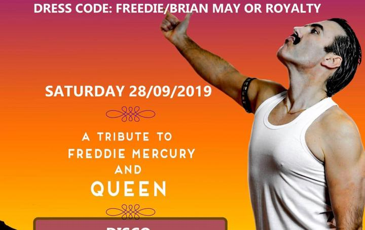 Leaflet of freddie at the Olton Tavern